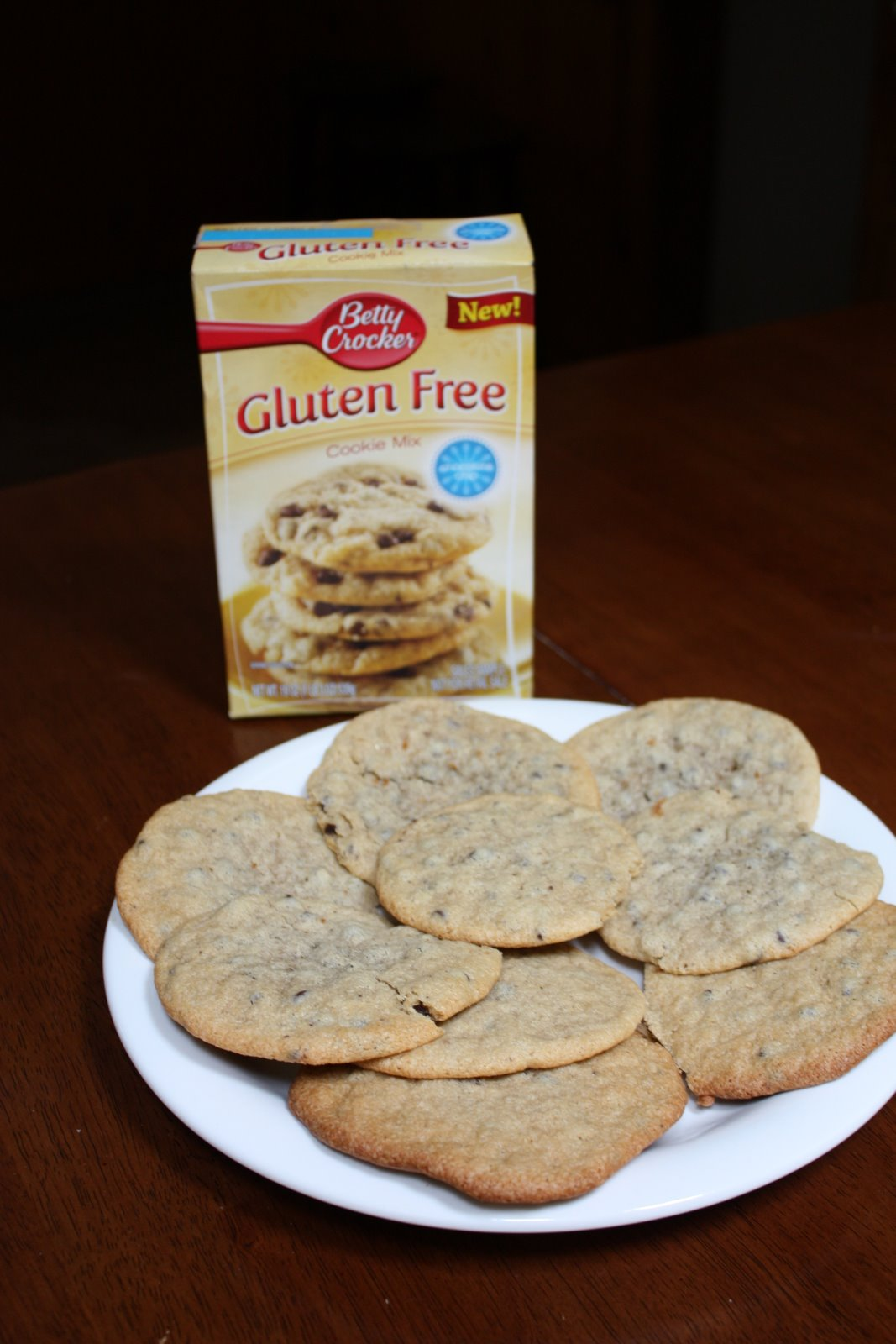 Be Free For Me Blog » Betty Crocker Chocolate Chip Cookie Mix