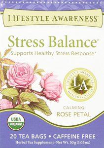 LA stress balance tea