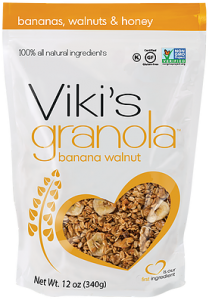 Banana walnut and honey Vikis