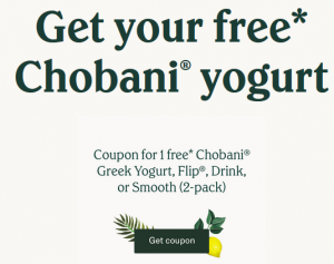 chobani free product link photo