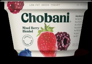 chobani mixed berry
